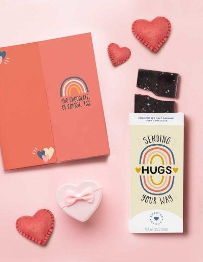 sweeter cards hugs packaging