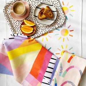 tea towel collection